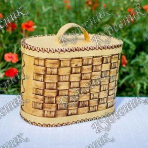 Хлебница Плетеная овальная