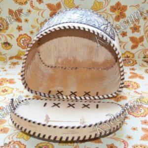 Берестяной короб Плетень