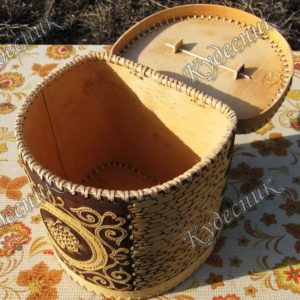 Короб на шарнире Шишки