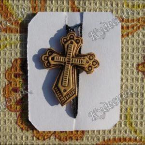 Крестик из бересты