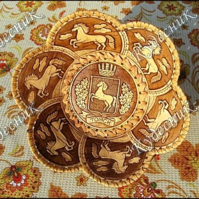 Тарелка 6 лепестков Томск