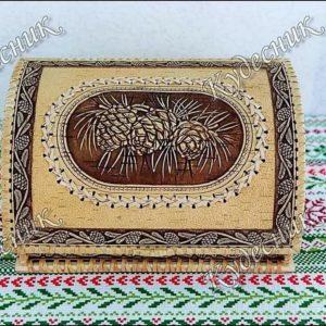Хлебница бархатная Шишки