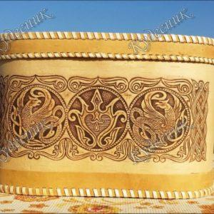 Хлебница большая овальная Грифон