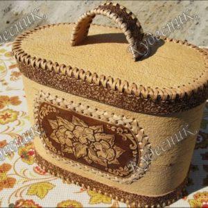 Хлебница овальная Вьюнок