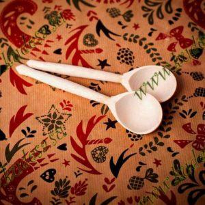 Деревянная ложка чайная без лака