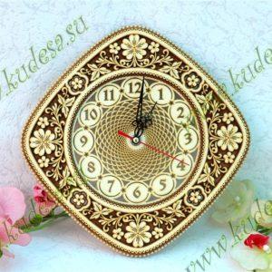 Часы Ромб 29×29