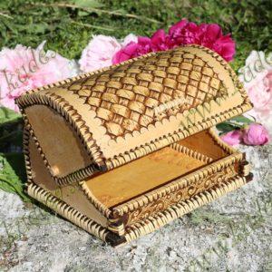 Хлебница-шлем Плетеная на 1 булку