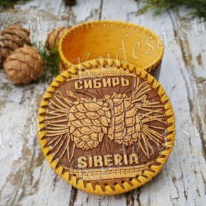 Шкатулка Сибирские шишки