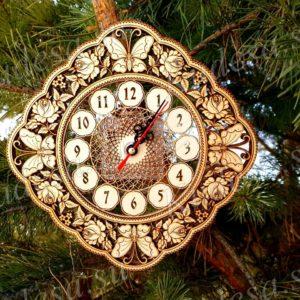 Часы Лето ромб Д22