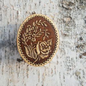 Шкатулка Веточка розы