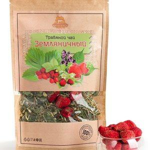 Травяной чай Земляничный 50 гр.