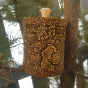 Туес Д10 Лесной мёд